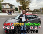 Well done to Joshua who passed his driving test first time at Hornchurch test centre