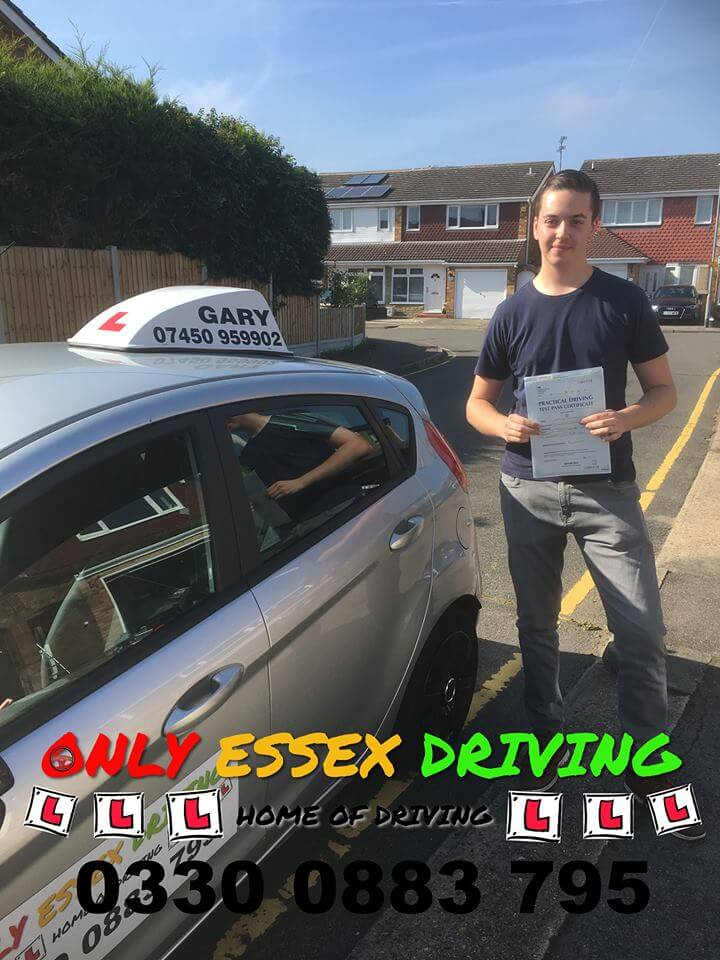 Well done to Archie who passed his driving test at Basildon test centre with only 2 minors
