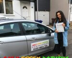 Well done to Hannah for passing her driving test at Tilbury test centre