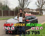 Well done to Aaron who passed his driving test first time at Hornchurch test centre