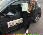 Well done to Chloe for passing her driving test at Hornchurch test centre