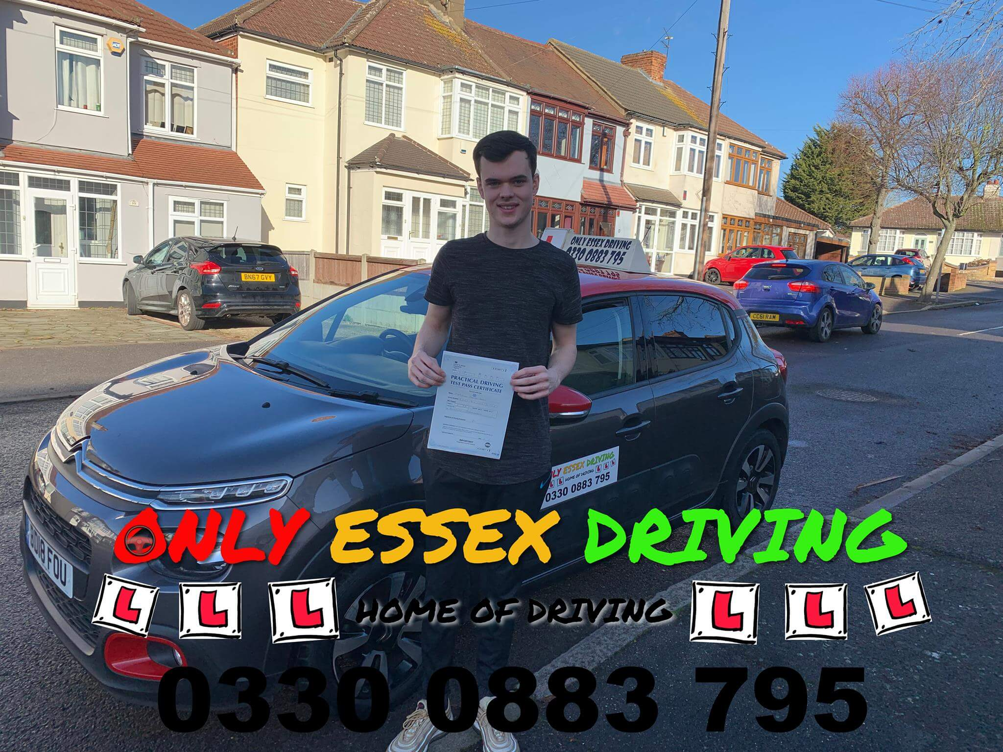 Well done to Matthew who passed his driving test first time with only 3 minors at Hornchurch test centre