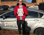 Well done to Mitchell who passed his driving test at Basildon test centre first time with only 4 minors