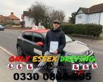 Well done to Joe who passed his driving test first time with only 6 minor faults at Hornchurch test centre