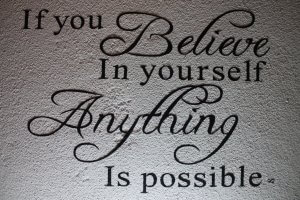 Believe in Yourself Quotation