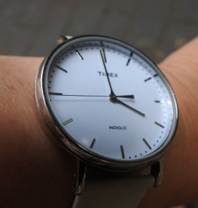 Watch on wrist Image